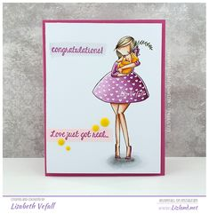 Mummy with baby First Blog Post, Baby Cards, Cas, Shower Ideas, Congratulations, Card Making, Baby Shower, Stamp, My Favorite Things