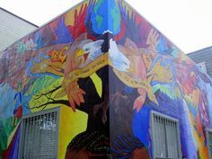 mission district murals - Google Search