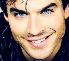 One of the reasons I watch Vampire Diaries. Good gracious those eyes!