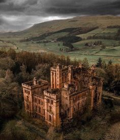 Lennox Castle, The Most Abandoned Castles in Scotland With Crazy Stories Behind Them Places In Scotland, Scotland Castles, Scottish Castles, Abandoned Castles, Abandoned Buildings, Abandoned Places, Abandoned Mansions, Haunted Places, Beautiful Castles