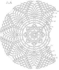 1 million+ Stunning Free Images to Use Anywhere Motif Mandala Crochet, Crochet Mandala Pattern, Crochet Doily Patterns, Crochet Diagram, Crochet Chart, Filet Crochet, Thread Crochet, Knit Crochet, Crochet Stitches