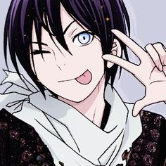 Day 7 of the 30DAC | Anime crush - Yato from Noragami (when he's not obsessed about money) - would've chosen Zuko from ATLA but there's the whole issue about whether ATLA is an anime...