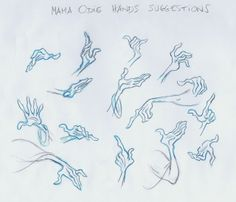 Mama Odie hand reference - by Andreas Deja Hand Reference, Drawing Reference, Anatomy Reference, Reference Images, Pose Reference, Character Design Animation, Character Design References, Character Development, Storyboard