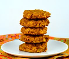 Oatmeal Pumpkin Cookies from our newsletter -- homemade baked goodies to enjoy on Phase 3.