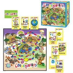 Games | Classroom Favorites | Consequences Game | Teachers' Exchange is the Premier Teacher Store of Central Florida supplying Educational Materials and School Supplies to PreK-12 schools, day cares, teachers and parents.