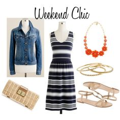 love this so much: Weekend Chic, created by kristy628k on Polyvore