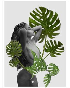 Sabrina Print Material: Printed on high quality matte paper in various sizes (sold without frame) Dimensions: x Home Furnishing Accessories, Printed Materials, Print Artist, Wall Art Prints, Garden Sculpture, Plant Leaves, Graphic Design, Illustration, Painting