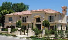 New Construction - mediterranean - exterior - other metro - Sienna Blanca Design, Inc.