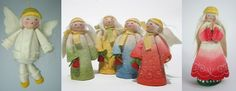 lovely Christmas angels, all hand made
