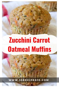Ingredients: cup rolled oats 1 cup all purpose flour 1 cup whole wheat flour 1 cups sugar 1 tablespoon baking powder 1 teaspoons ground cinnamon 1 teaspoon salt 3 large eggs + 1 large egg white cup oil 1 cup Baby Food Recipes, Gourmet Recipes, Baking Recipes, Carrot Recipes, Ww Recipes, Free Recipes, Recipies, Morning Glory Muffins, Donut Muffins