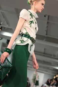 Oscar De La Renta Resort 2013 | Photographer: Rachel Scroggins - thegreyestghost.wordpress.com