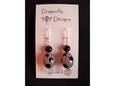 Dragonfly Designs. Sterling Silver.