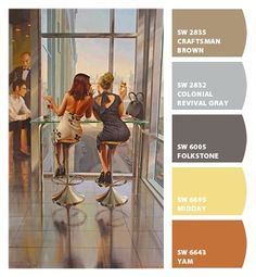 Paint colors from Chip It! by Sherwin-Williams. Artist: Stanislav Plutenko. ChipCard by Reni Apostolova.