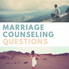 Every marriage has its own struggles and a lot of times marriage counseling is the answer! Get communicating with these marriage counseling questions and be on your way to a stronger relationship!