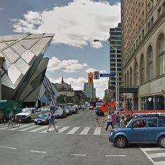 Daniel Libeskind, Michael Lee-Chin Crystal, Toronto, ON, Canada - street view