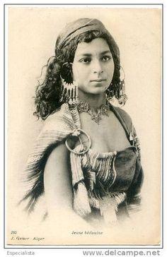 jeune femme algérienne d'antan