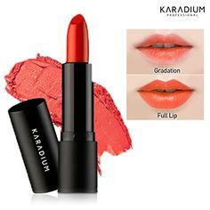 KARADIUM Oh My Lips 35g  Soft Texture Moisturizing Lipstick 7 Colors 3 Tangerine * ** AMAZON BEST BUY **