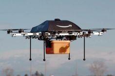 Amazon Pakai Drone Antar Barang