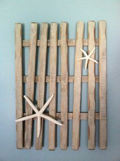 DIY beach wall art from my Beach Bedroom KVK