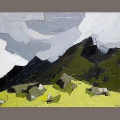 Sir Kyffin Williams R.A. (British, 1918-2006) Nant Ffrancon 61 x 76 cm. (24 x 30 in.)