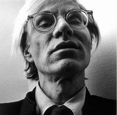 Andy Warhol in Moscot Miltzen