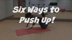 Workout Wednesday!! The Push Ups you NEED to Try!
