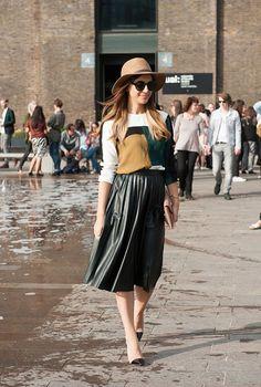 London Fashion Week S / S 2015: street style. Part I, Buro 24/7