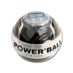 Exercise & Fitness: Powerball Neon White Pro Signature Exercise Ball by NSD Powerball
