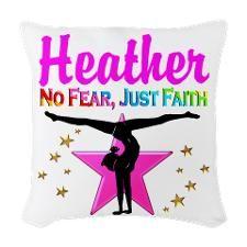 TUMBLING QUEEN Woven Throw Pillow http://www.cafepress.com/sportsstar/10114301  #Gymnastics #Gymnast #IloveGymnastics #Gymnastgifts #WomensGymnastics #Gymnastcalendar #PersonalizedGymnastics #Gymnastinspiration