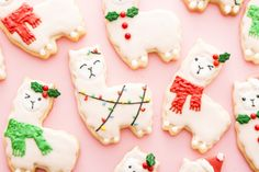 Our guide to creating the most beautifully decorated holiday and Christmas cookies.