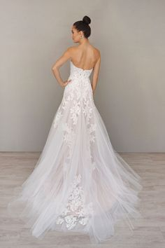 Lace at its finest. Alvina Valenta Style 9607