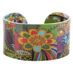 Acrylic Cute Colorful Pattern Bangle News Jewelry Women Girl Spring Summer Bracelets