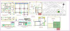 Plan Autocad d'une petite villa dwg | Génie civil et Travaux Publics Engineering