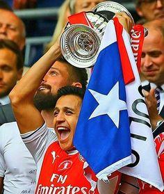 Alexis y todos sus titulos hasta el momento �� (15) #alexissanchez @alexis_officia1  2017 | ARSENAL | FA CUP 2016 | CHILE | Copa América Centenario  2015 | CHILE | Copa América  2015 | ARSENAL | FA Cup 2015 | ARSENAL | Community Shield 2014 | ARSENAL | Community Shield 2013 | BARCELONA | Supercopa de España  2013 | BARCELONA | Liga de España  2012 | BARCELONA | Copa del Rey 2011 | BARCELONA | Mundial de Clubes 2011 | BARCELONA | Supercopa de España 2011 | BARCELONA | Supercopa de Europa 2008…