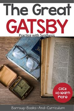 Add a rigorous and engaging synthesis opportunity to the teaching of F. Scott Fitzgeralds classic novel, The Great Gatsby. Whether you teach the entire novel, excerpts, assign it as an outside reading or show the film, this synthesis activity will work f High School Literature, American Literature, Writing Skills, Essay Writing, Ap Language And Composition, Teacher Lesson Plans, Language Arts, English Language, The Great Gatsby