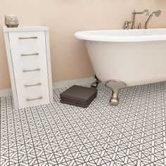 SomerTile 11.75x11.75-inch Castle White Porcelain Mosaic Floor and Wall Tile (Case of 10) - 14197260 - Overstock - Big Discounts on Somertile Wall Tiles - Mobile