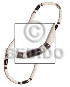 Classic puka shell necklace - the best accessories for summer season