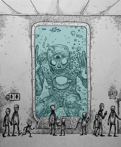 Old Gods on Display Ink/Digital