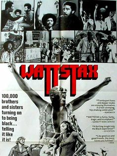 Wattstax - 1973 - directed by : Mel Stuart - cast : Isaac Hayes, Rufus Thomas, Richard Pryor