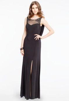 Jersey Beaded Dress