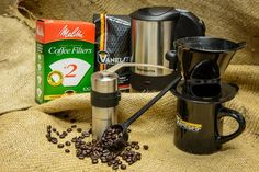 Melitta Brew Kit - If you are either just starting out in the world of pour over coffee or want something simple to make a great cup of coffee, we've put together this complete kit. Coffee Cups, Coffee Maker, Brewing Equipment, Pour Over Coffee, Kit, Simple, Coffee Maker Machine, Coffee Mugs, Coffee Percolator