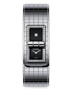 CHANEL Code Coco Steel Bracelet Watch