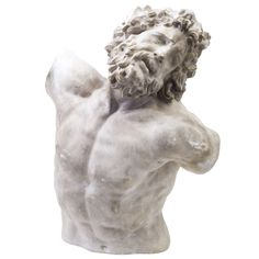 Italian Torso Plaster Model of Laocoon | From a unique collection of antique and modern sculptures at http://www.1stdibs.com/furniture/more-furniture-collectibles/sculptures/