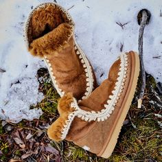MOU Boots Make Feet Warm In The Cold Winter