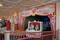 Toy Story Mania ride. One of my favorite rides at Disney California Adventure