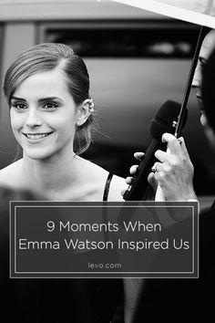 9 Moments When Emma Watson Inspired Us www.levo.com