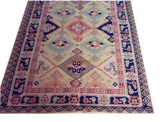 SOUMAK Sue mike pure New Zealand wool hand-woven exotic ethnic wind three-dimensional woven carpet 34cmx54cm  gc150-2