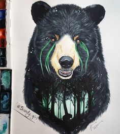 21-year-old Finland Artist Jonna 'Scandy Girl' (Jonna Lamminaho) has created breathtaking fine art pieces that remind us to preserve nature and of the…