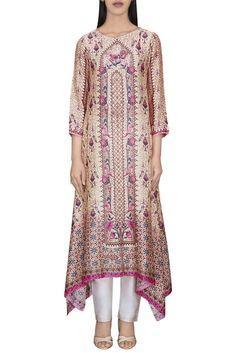 Latest Collection of Tunics & Kurtis by Anita Dongre Kurta Designs, Printed Kurti Designs, Latest Pakistani Fashion, Pakistani Outfits, Indian Outfits, Designer Salwar Kameez, Indian Fashion Designers, Indian Designer Wear, Batik Fashion