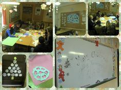 We always decorate the classroom according to the latest holiday Efl Teaching, Teaching English, Learning Environments, Christmas Decorations, Country, Creative, Frame, Classroom Ideas, Holiday